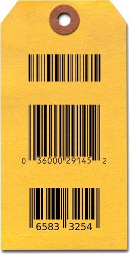 Barcoded tags - Add a barcode to your tags - shipping tags - custom tags - custom shipping tags - etiquettes - code a barre - Advantag Canada